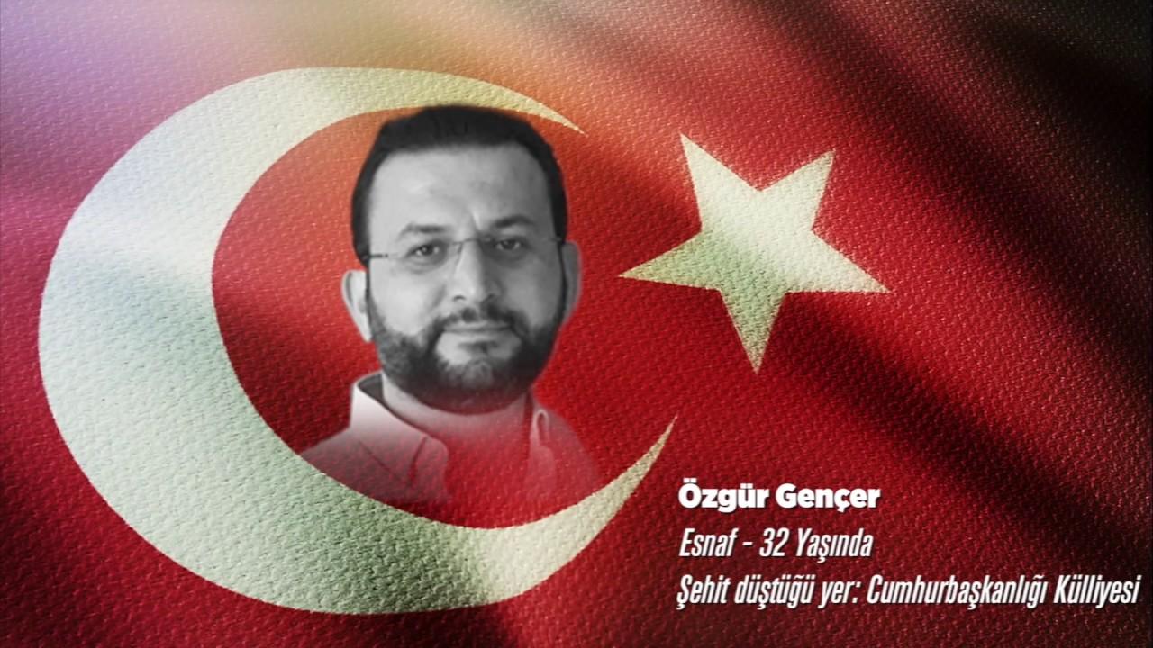 15 Temmuz Şehidi Özgür Gençer