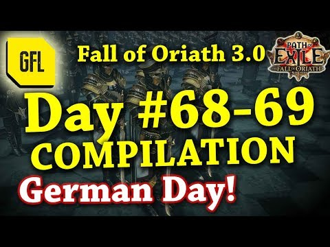 Path of Exile 3.0 Fall of Oriath: DAY #68-69 Compilation and Highlights from Youtube and Twitch
