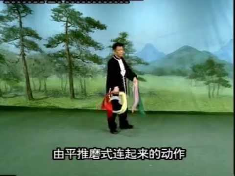 San Huang Gong 三黄功 Sun & Moon Round double swords