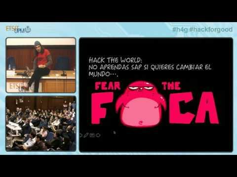 HackForGood 2017 - Charla Chema Alonso