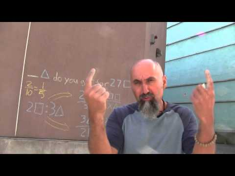 Simple Unit Conversions Using Cross Multiplication: How It Works (Language of Mathematics IV #151)