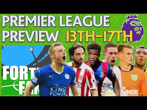 PODCAST | PREMIER LEAGUE PREVIEWS | #LCFC #SCFC #CPFC #SWANS