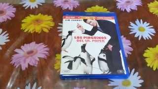 Unboxing Los Pingüinos del Sr. Poper Blu-ray