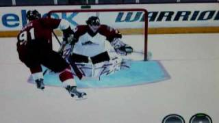 NHL 10 awesome deke and goal (PS3)