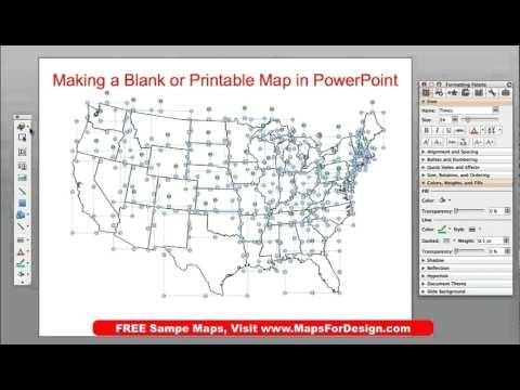 How to make a printable blank outline usa or world map from how to make a printable blank outline usa or world map from powerpoint mapsfordesign gumiabroncs Image collections