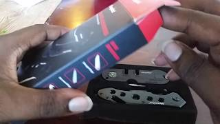 Morpilot tactical knife and sharpener review and unboxing