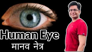Human Eye in Hindi Physics For Class 10