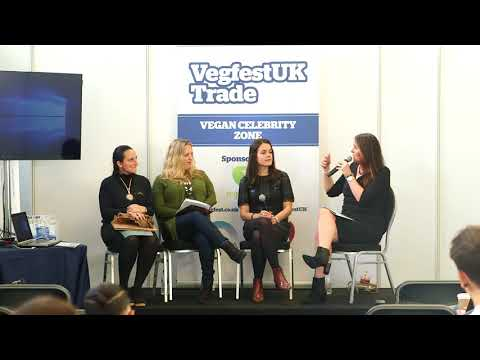 VegfestUK Trade 2017 - Ethical Vegan Fashion panel