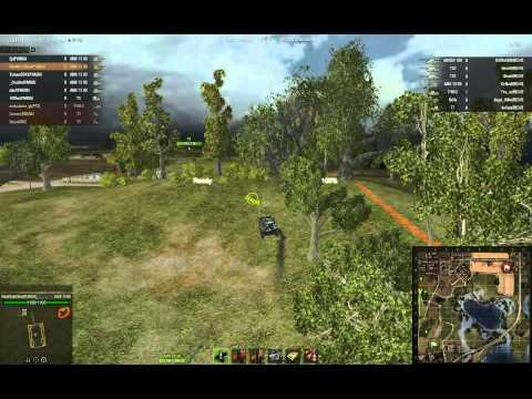 World Of Tanks - Go4Wot Evil Panda Squad Vs The RED Rush (Tajna Taktyka)
