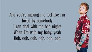 Ed Sheeran   I Don't Care Lyrics Ft  Justin Bieber