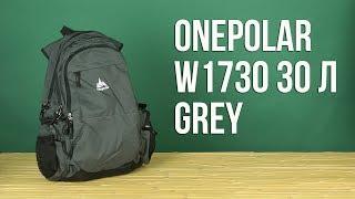 Розпакування Onepolar W1730 30 л Grey