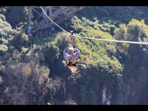 Victoria Falls Zipline and Bridge Tour
