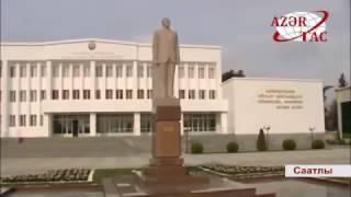 видео Памятник Гейдару Алиеву