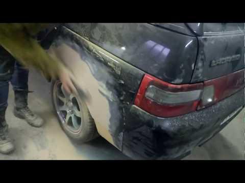Кузовной ремонт московской ваз 2112 - эконом вариант (3 часть)
