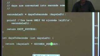 Lecture 8: writing a simple C program  - Richard Buckland