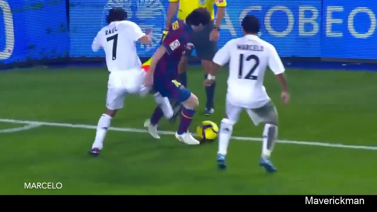 Download Messi vs Defenders Lionel Messi fooling defenders