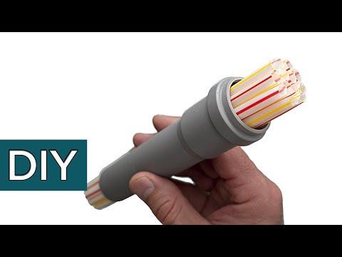 Как сделать полезную насадку из пластиковой трубы.#Стройхак