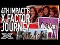4th Impact's X Factor Journey | Ariana Grande, Christina Aguilera & MORE | X Factor Global