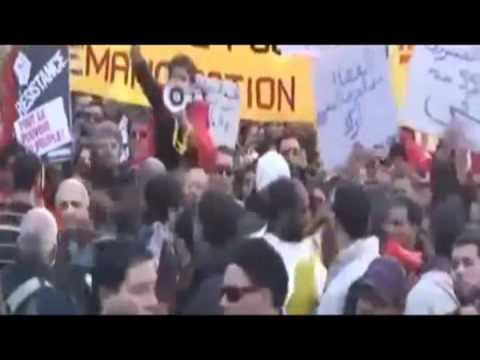 """Tunisia/Egyptian Revolution! """"Rayes Le Bled"""" by Hamada Ben-Amour  with english subtitles"""