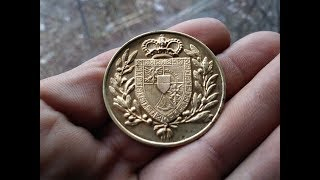 Gdańskie Poszukiwania# 36 -Złote Krzyże i  Medale z Księstwa Lichtenstein  -WH ,Wykopki ,Deus xp