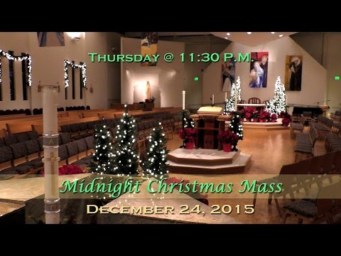 Midnight Christmas Mass at St. Charles
