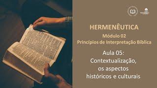 CBTR - Contextualização, os aspectos históricos e culturais (Mod 02 - Aula 05)