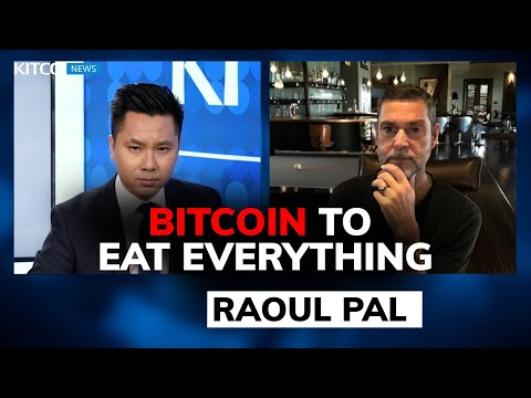 Raoul Pal sold his gold because 'bitcoin is eating the world'; $300k price in 18 months (Pt. 2/2)