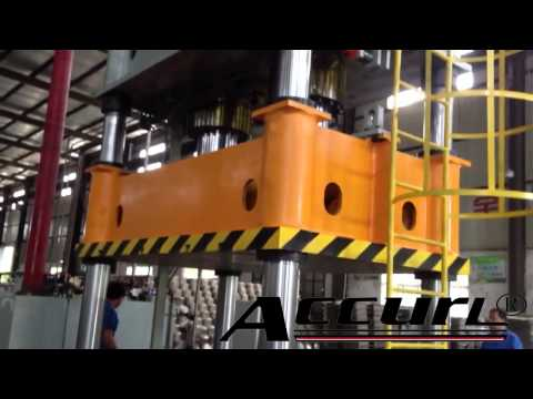 1000 Tons Four Column Deep Drawing Hydraulic Press by CE Safety Standards