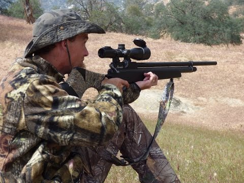 Southern California Air Rifle Ground Squirrel Hunting 2