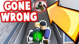 FAKE BODY HIDING SPOT TROLL *GONE WRONG*!! (Roblox Murder Mystery 2)
