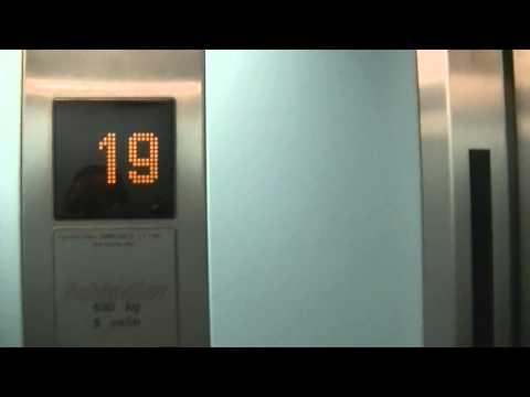 riding all four schindler elevators@apartment house, namestie hraniciarov, bratislava