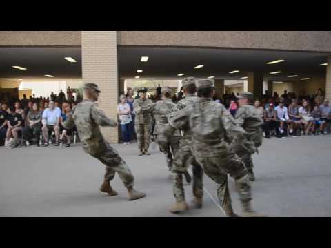FORT SILL OKLAHOMA GRADUATION  CEREMORY 9 - 2016