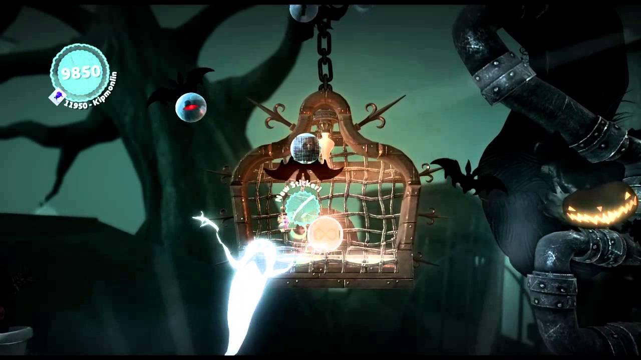 LittleBigPlanet 3 - Nightmare Before Christmas level - YouTube
