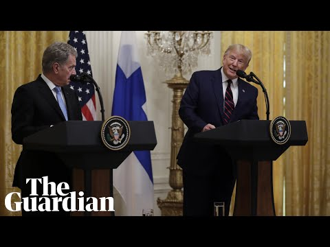 'You have a great democracy – keep it going': Finland's Niinistö to Trump