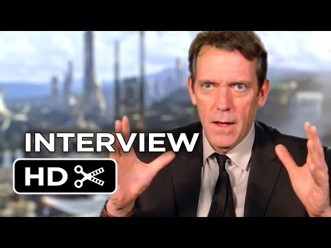 Tomorrowland Interview - Hugh Laurie (2015) - George Clooney Movie HD