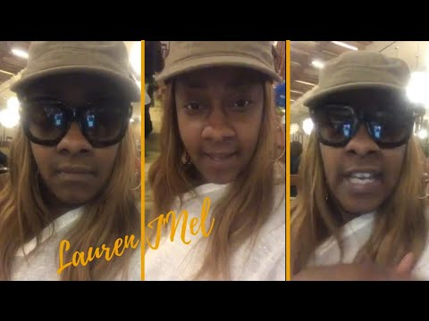 "An Upset Le'Andria Johnson Goes Live And Says ""I'm Tired Of This S**t"""