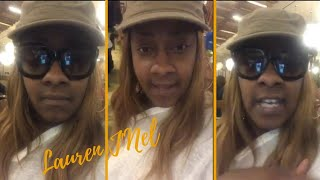 An Upset Le'Andria Johnson Goes Live And Says