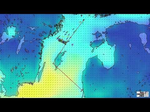 1064 Tall Ships Races 2017 Race 2 Turku to Klaipeda