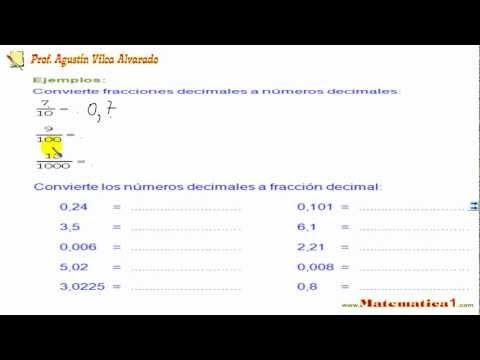 seleccione para el último 100% de alta calidad Página web oficial Conversión de Fracción a Decimal , Lectura y Escritura de Números  Decimales-Ejemplos