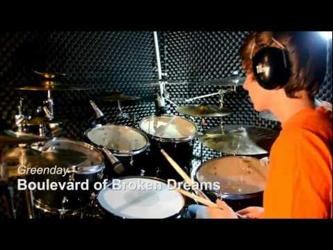 Green Day  Boulevard of Broken Dreams  Drum  Studio Quality