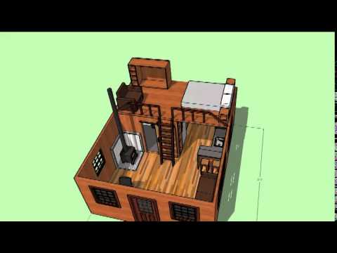 Cabin grayskull 16x20 youtube for 16x20 garage price