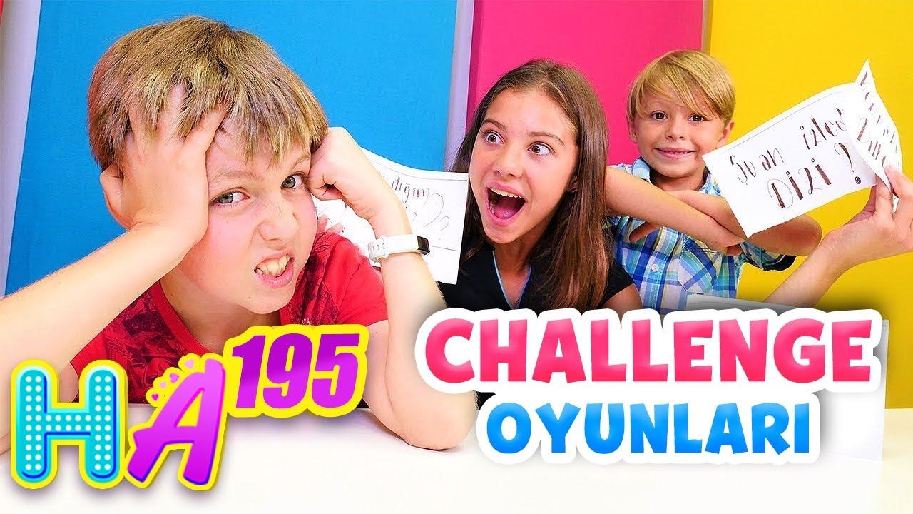 Hayal Ailesi. Komik challenge oyunu izle! Eğlenceli video