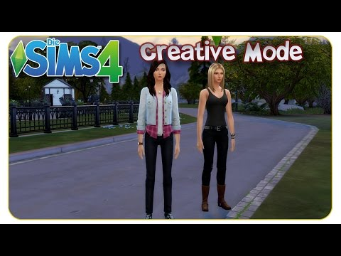 Die Sims 4 Creative Mode: Annalena & Betty