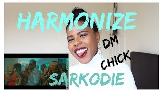 🇹🇿Harmonize feat Sarkodie - DM Chick   (***REACTION***)