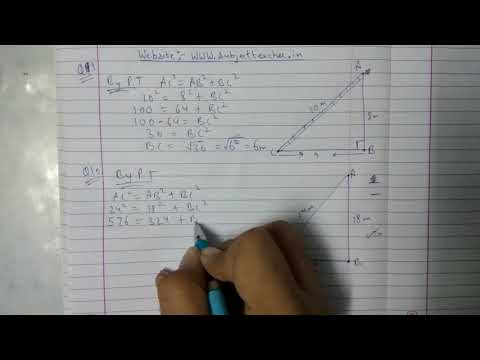 Chapter 6 Exercise 6.5 (Q9 Q10) || Triangles|| class 10 maths
