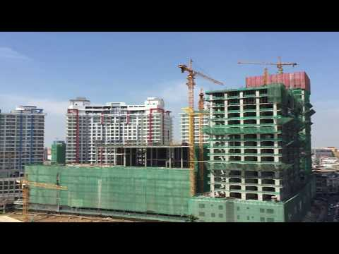 Phnom Penh city view H 35 in 1min and 36
