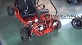 Kandi 110cc FM5 Kids Mini Go Kart KA-KD-49FM5-E - YouTube