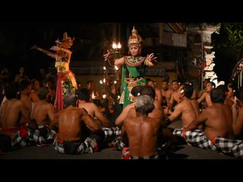 Balinese Monkey Chant - Kecak, October 2016 - Ubud, Bali, Indonesia