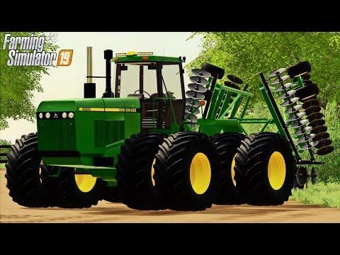 TAKING OVER GRANDPA'S OLD FARM (ROLEPLAY) FARMING SIMULATOR 19