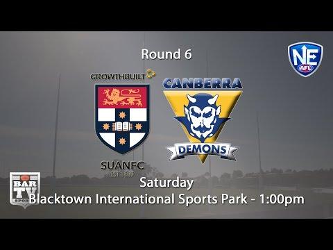 2018 Round 6 - Sydney Uni v Canberra Demons